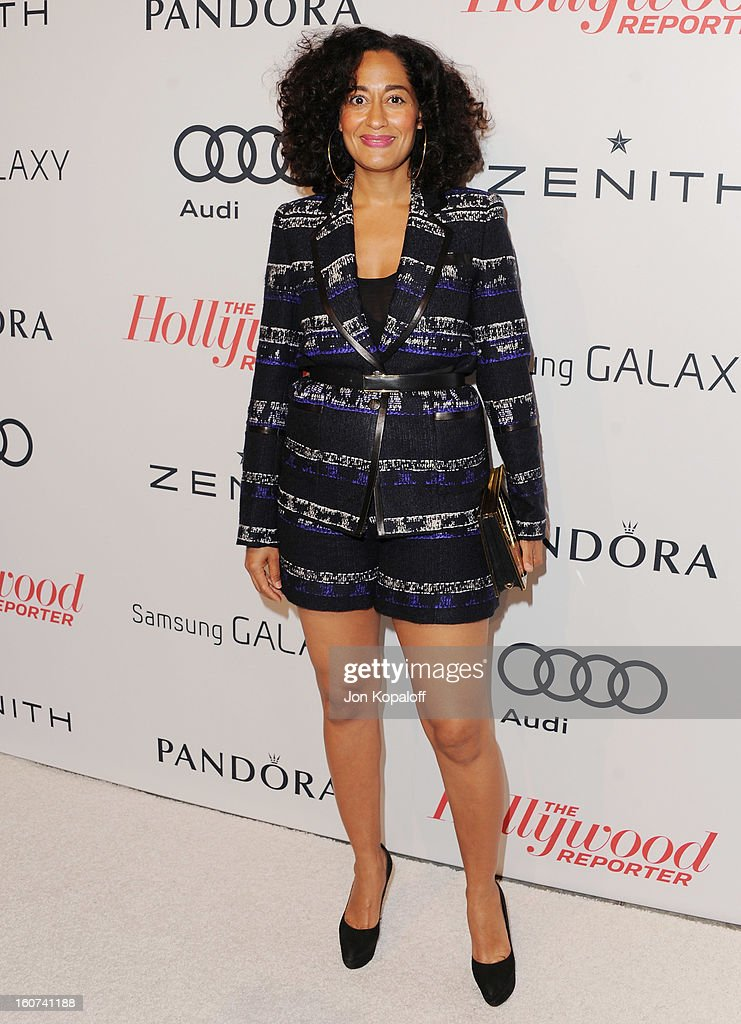Actress Tracee Ellis Ross arrives at The Hollywood Reporter Nominees' Night 2013 Celebrating 85th Annual Academy Award Nominees at Spago on February 4, 2013 in Beverly Hills, California.