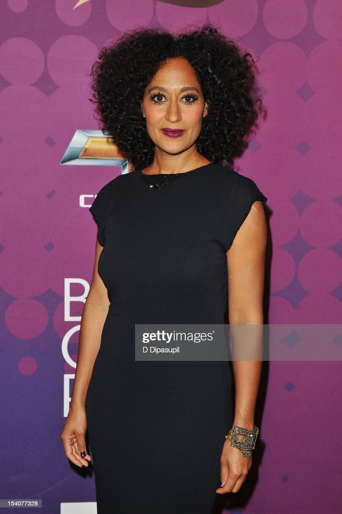 Actress Tracee Ellis Ross attends BET's Black Girls Rock 2012 CHEVY Red Carpet at Paradise Theater on October 13, 2012 in New York City.