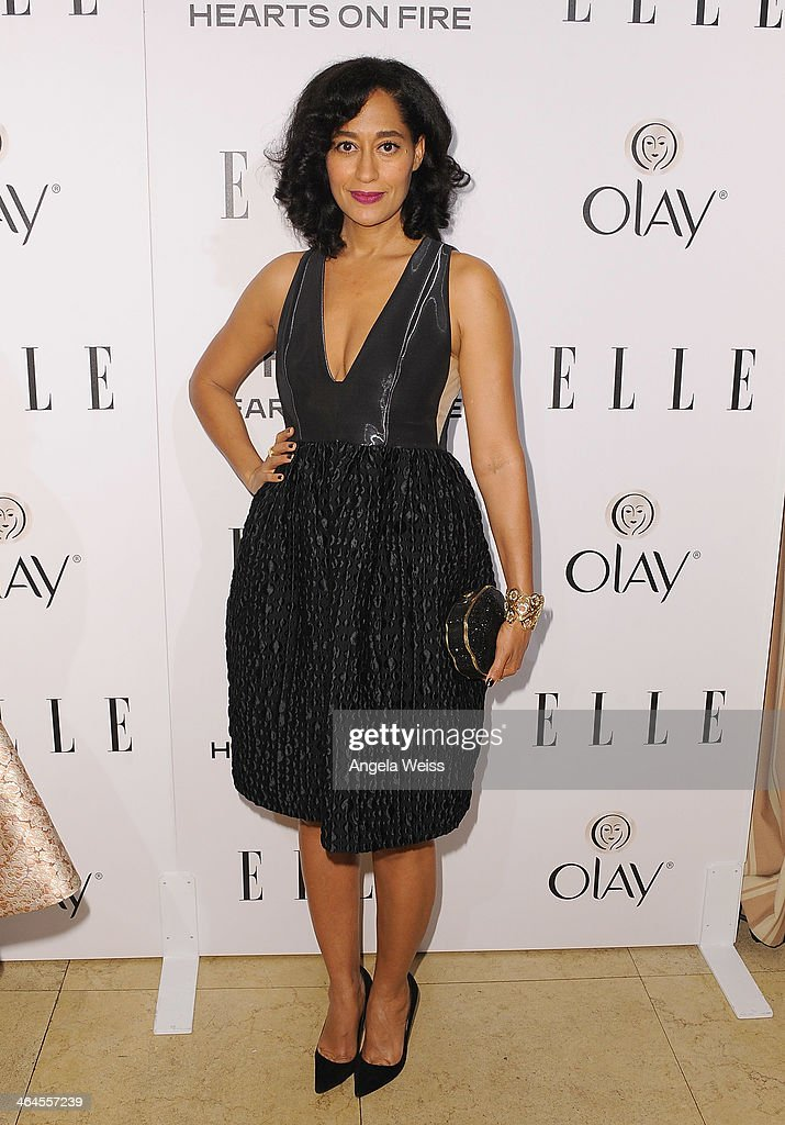 Actress Tracee Ellis Ross attends ELLE's Annual Women in Television Celebration at Sunset Tower on January 22, 2014 in West Hollywood, California.
