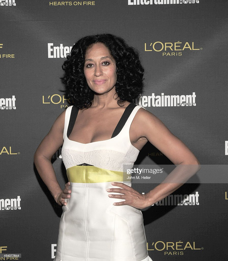 Actress Tracee Ellis Ross attends Entertainment Weekly's Pre-Emmy Party at Fig & Olive on Melrose Place on August 23, 2014 in West Hollywood, California.