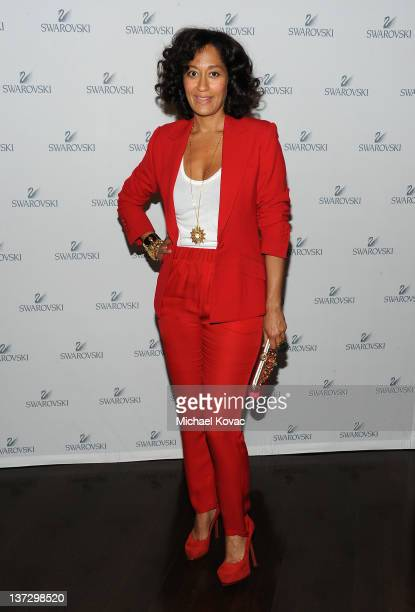 Actress Tracee Ellis Ross attends Swarovski Press Preview with Cameron Silver at the Beverly Hills Hotel on January 18 2012 in Beverly Hills...