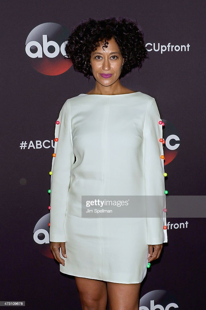 Actress Tracee Ellis Ross attends the 2015 ABC upfront presentation at Avery Fisher Hall at Lincoln Center for the Performing Arts on May 12, 2015 in New York City.