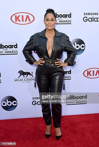 Actress Tracee Ellis Ross attends the 2015 Billboard Music Awards at MGM Grand Garden Arena on May 17 2015 in Las Vegas Nevada