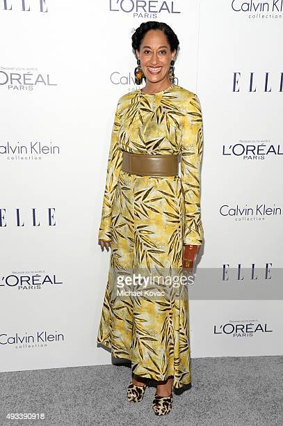 Actress Tracee Ellis Ross attends the 22nd Annual ELLE Women in Hollywood Awards at Four Seasons Hotel Los Angeles at Beverly Hills on October 19...