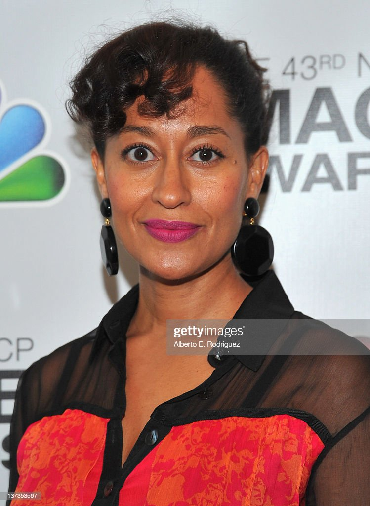 Actress Tracee Ellis Ross attends the 43rd NAACP Image Awards Nomination announcement and press conference at The Paley Center for Media on January 19, 2012 in Beverly Hills, California.