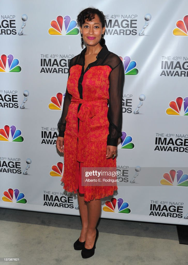 Actress <a gi-track='captionPersonalityLinkClicked' href=/galleries/search?phrase=Tracee+Ellis+Ross&family=editorial&specificpeople=211601 ng-click='$event.stopPropagation()'>Tracee Ellis Ross</a> attends the 43rd NAACP Image Awards Nomination announcement and press conference at The Paley Center for Media on January 19, 2012 in Beverly Hills, California.