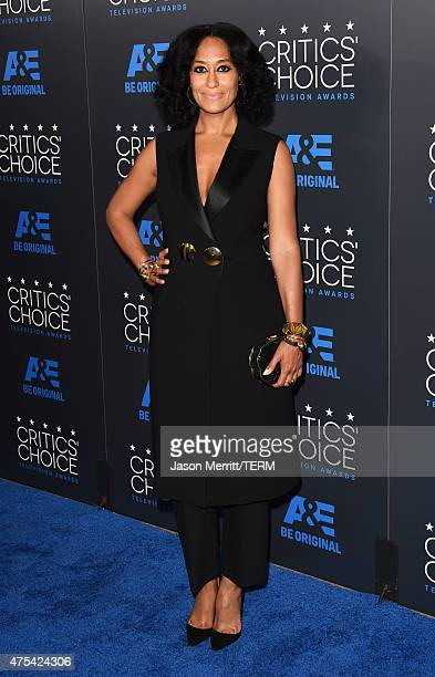 Actress Tracee Ellis Ross attends the 5th Annual Critics' Choice Television Awards at The Beverly Hilton Hotel on May 31 2015 in Beverly Hills...