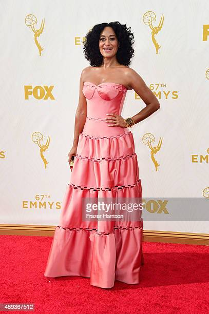 Actress Tracee Ellis Ross attends the 67th Annual Primetime Emmy Awards at Microsoft Theater on September 20 2015 in Los Angeles California