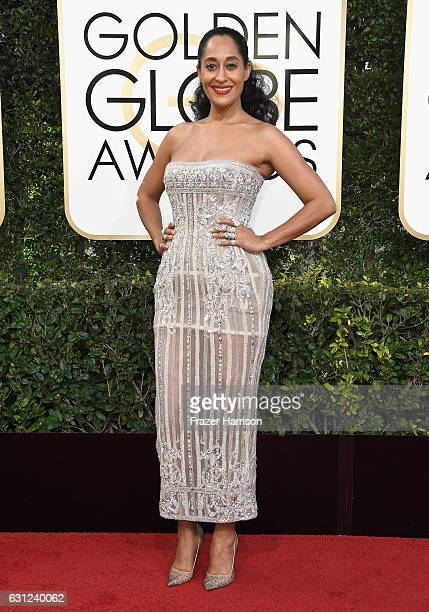 Actress Tracee Ellis Ross attends the 74th Annual Golden Globe Awards at The Beverly Hilton Hotel on January 8 2017 in Beverly Hills California