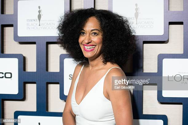 Actress Tracee Ellis Ross attends the 8th Annual ESSENCE Black Women In Hollywood Luncheon at the Beverly Wilshire Four Seasons Hotel on February 19...