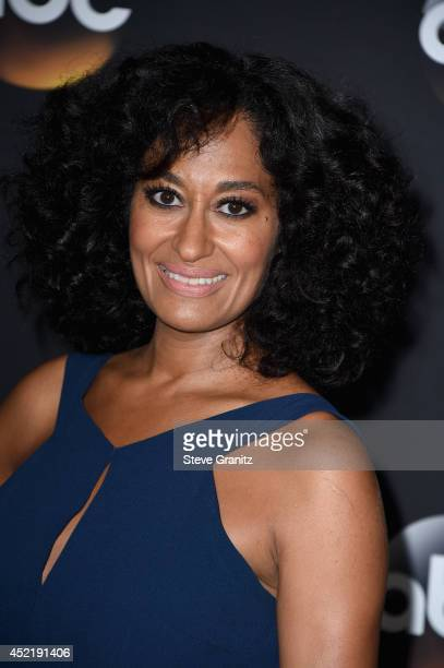 Actress Tracee Ellis Ross attends the Disney/ABC Television Group 2014 Television Critics Association Summer Press Tour at The Beverly Hilton Hotel...