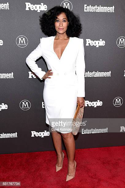 Actress Tracee Ellis Ross attends the Entertainment Weekly People Upfronts party 2016 at Cedar Lake on May 16 2016 in New York City