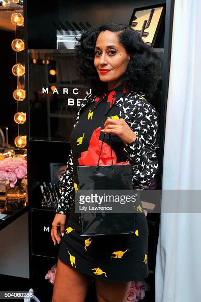 Actress Tracee Ellis Ross attends the HBO Luxury Lounge at the Four Seasons Hotel Los Angeles at Beverly Hills on January 8 2016 in Los Angeles...