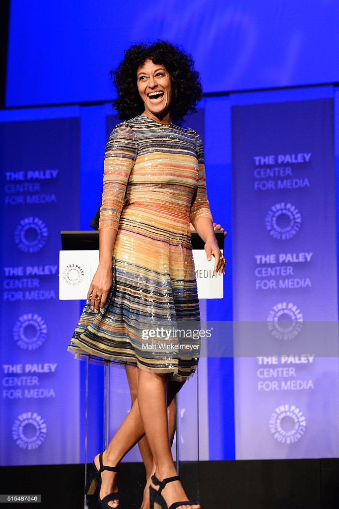 Actress Tracee Ellis Ross attends The Paley Center For Media's 33rd Annual PALEYFEST Los Angeles ÒBlackish' at Dolby Theatre on March 13 2016 in...