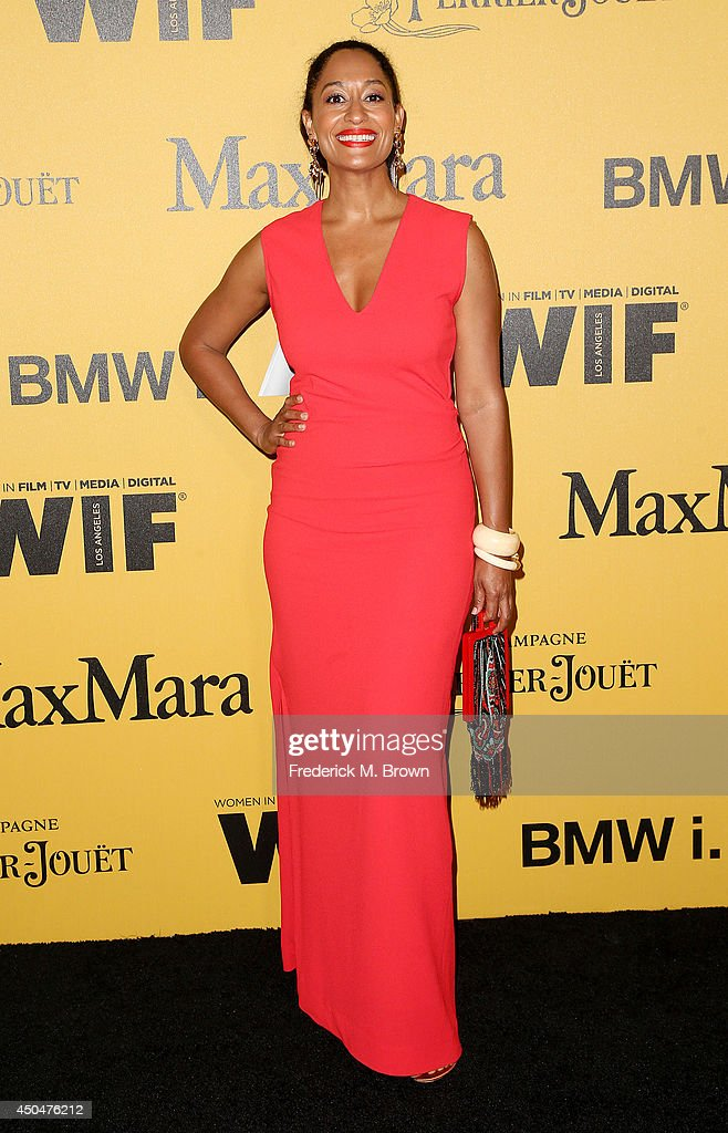 Actress <a gi-track='captionPersonalityLinkClicked' href=/galleries/search?phrase=Tracee+Ellis+Ross&family=editorial&specificpeople=211601 ng-click='$event.stopPropagation()'>Tracee Ellis Ross</a> attends the Women In Film, Los Angeles Presents the 2014 Crystal + Lucy Awards at the Hyatt Regency Century Plaza Hotel on June 11, 2014 in Century City, California.
