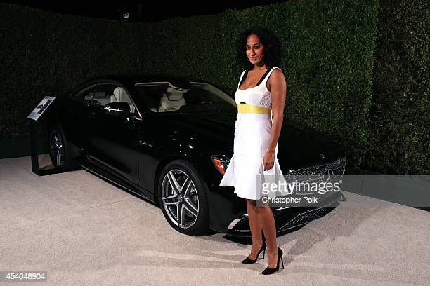 Actress Tracee Ellis Ross attends Variety and Women in Film Emmy Nominee Celebration powered by Samsung Galaxy on August 23 2014 in West Hollywood...