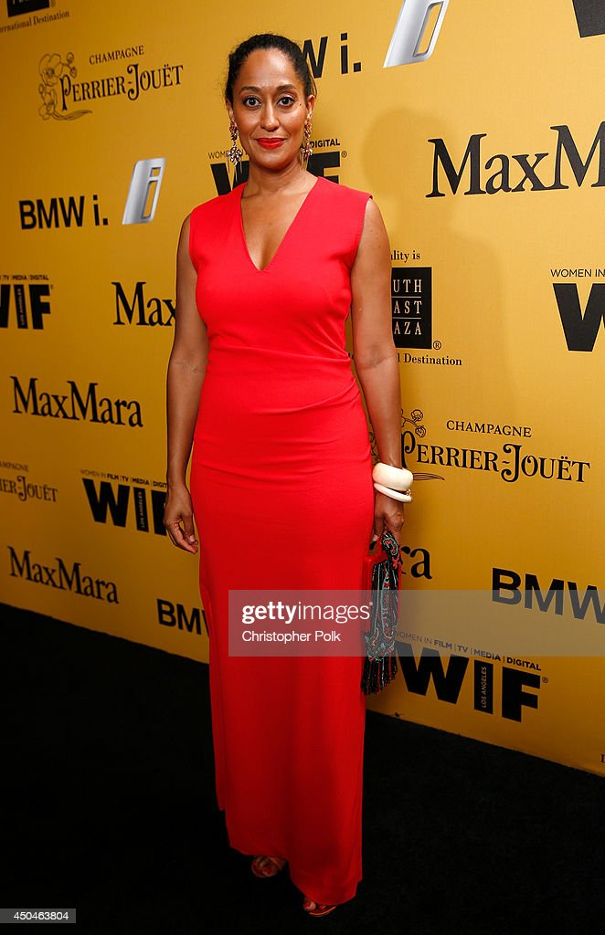 Actress Tracee Ellis Ross attends Women In Film 2014 Crystal + Lucy Awards presented by MaxMara, BMW, Perrier-Jouet and South Coast Plaza held at the Hyatt Regency Century Plaza on June 11, 2014 in Los Angeles, California.