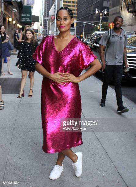 Actress Tracee Ellis Ross is seen on October 10 2017 in New York City