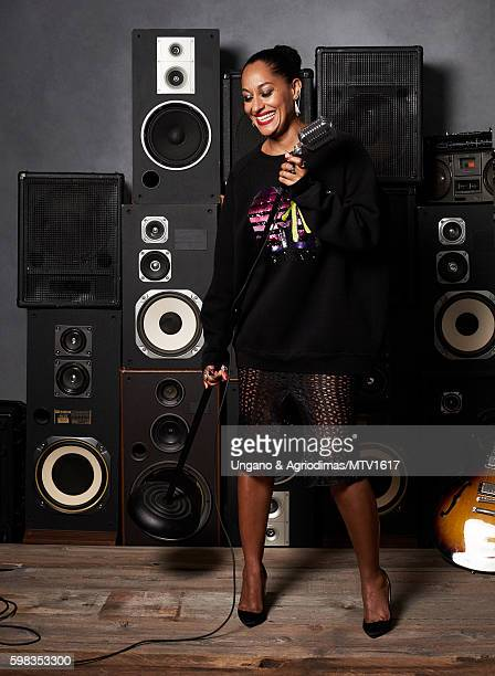 Actress Tracee Ellis Ross poses for a portrait at the 2016 MTV Video Music Awards at Madison Square Garden on August 28 2016 in New York City