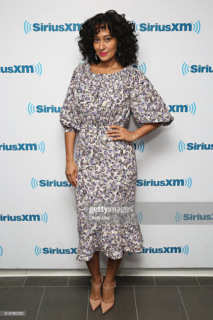 Actress Tracee Ellis Ross visits the SiriusXM Studios on March 15, 2016 in New York City.