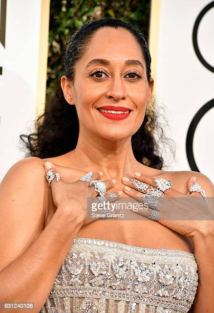Actress Tracee Elllis Ross attends the 74th Annual Golden Globe Awards at The Beverly Hilton Hotel on January 8 2017 in Beverly Hills California