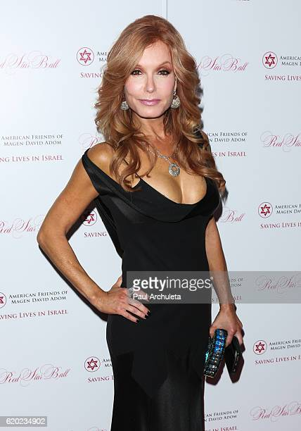Actress Tracey Bregman attends the 4th annual Los Angeles Red Star Ball at The Beverly Hilton Hotel on November 1 2016 in Beverly Hills California