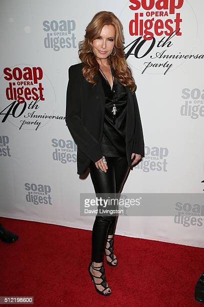 Actress Tracey E Bregman arrives at the 40th Anniversary of the Soap Opera Digest at The Argyle on February 24 2016 in Hollywood California