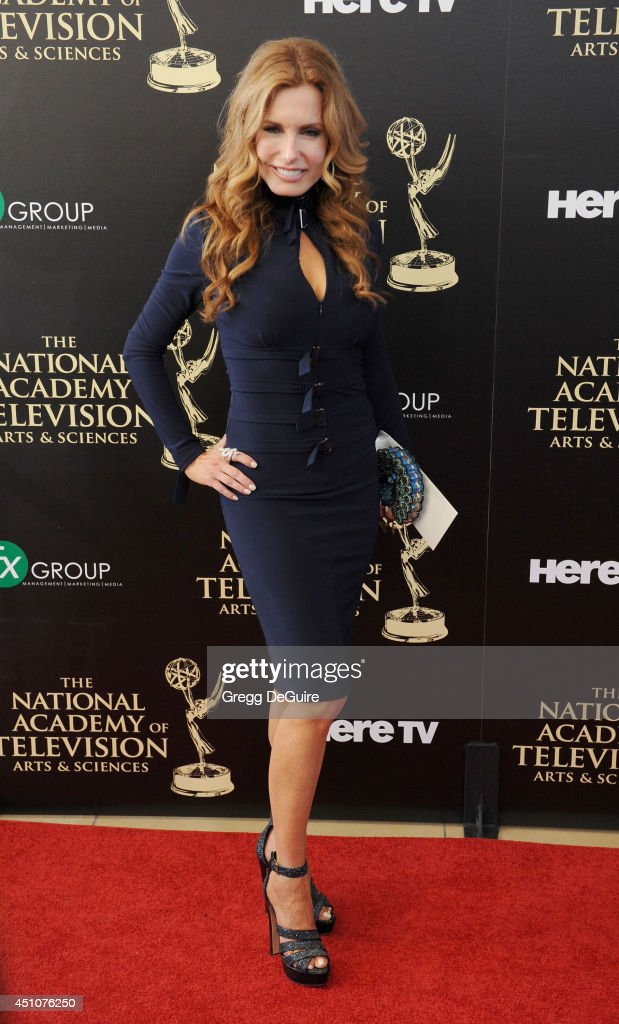 Actress Tracey E. Bregman arrives at the 41st Annual Daytime Emmy Awards at The Beverly Hilton Hotel on June 22, 2014 in Beverly Hills, California.