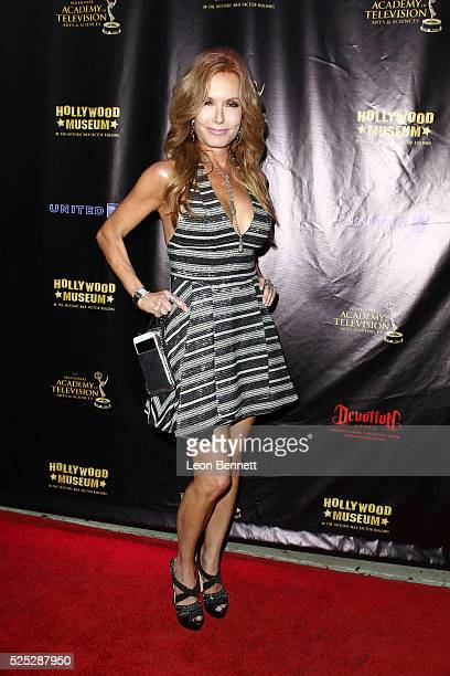 Actress Tracey E Bregman attends the 2016 Daytime Emmy Awards Nominees Reception Arrivals at The Hollywood Museum on April 27 2016 in Hollywood...