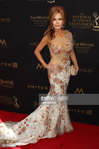 Actress Tracey E Bregman attends the 2016 Daytime Emmy Awards Arrivals at Westin Bonaventure Hotel on May 1 2016 in Los Angeles California