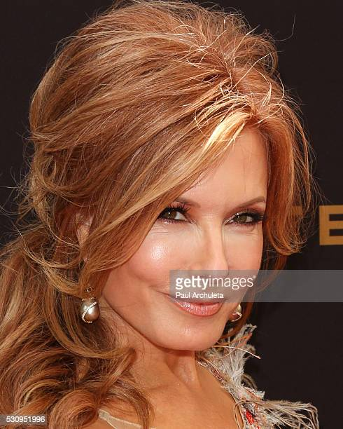 Actress Tracey E Bregman attends the 2016 Daytime Emmy Awards at The Westin Bonaventure Hotel on May 1 2016 in Los Angeles California