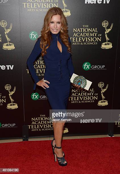 Actress Tracey E Bregman attends The 41st Annual Daytime Emmy Awards at The Beverly Hilton Hotel on June 22 2014 in Beverly Hills California