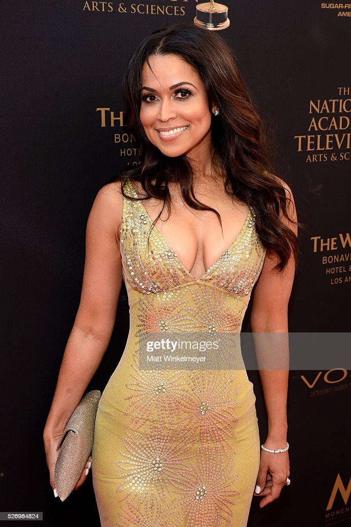 Actress Tracey E. Edmonds walks the red carpet at the 43rd Annual Daytime Emmy Awards at the Westin Bonaventure Hotel on May 1, 2016 in Los Angeles, California.