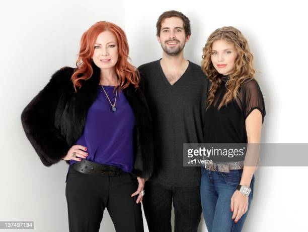Actress Traci Lords writer/director Richard Bates Jr and actress AnnaLynne McCord pose for a portrait during the 2012 Sundance Film Festival at the...