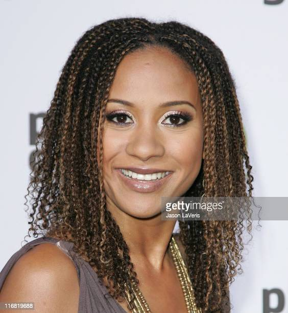 Actress Tracie Thoms attends the Planet Green launch party at the Greek Theater on May 28 2008 in Los Angeles California
