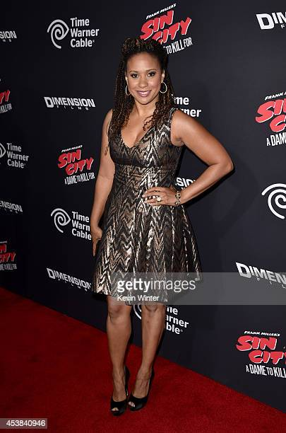 Actress Tracie Thoms attends the premiere of Dimension Films' 'Sin City A Dame To Kill For' at TCL Chinese Theatre on August 19 2014 in Hollywood...