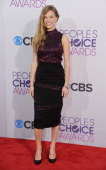 Actress Tracy Spiridakos arrives at the 2013 People's Choice Awards at Nokia Theatre LA Live on January 9 2013 in Los Angeles California