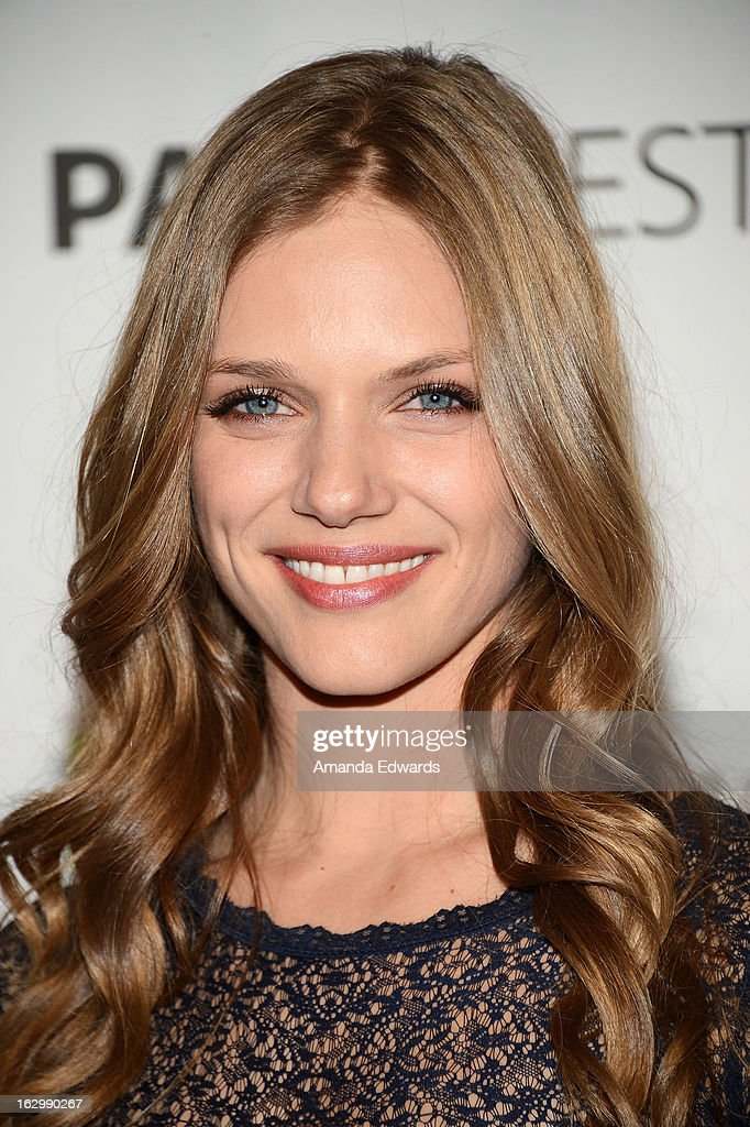 Actress Tracy Spiridakos arrives at the 30th Annual PaleyFest: The William S. Paley Television Festival featuring 'Revolution' at Saban Theatre on March 2, 2013 in Beverly Hills, California.