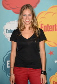Actress Tracy Spiridakos attends Entertainment Weekly's Annual ComicCon Celebration at Float at Hard Rock Hotel San Diego on July 20 2013 in San...