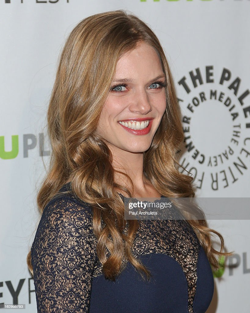 Actress Tracy Spiridakos attends the 30th annual PaleyFest featuring the cast of 'Revolution' at the Saban Theatre on March 2, 2013 in Beverly Hills, California.