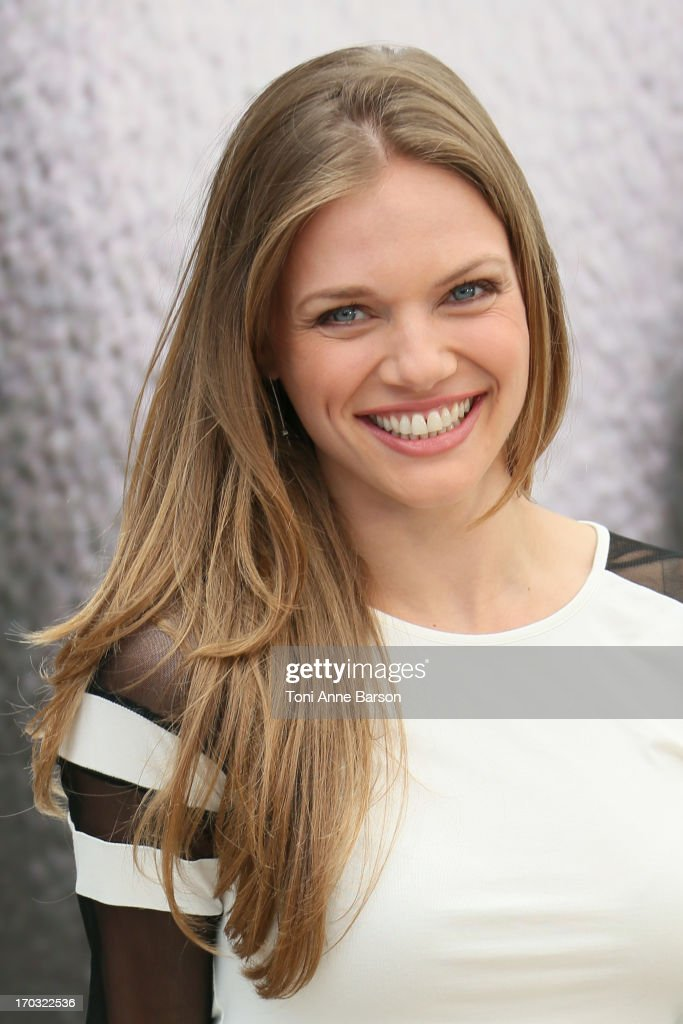 Actress <a gi-track='captionPersonalityLinkClicked' href=/galleries/search?phrase=Tracy+Spiridakos&family=editorial&specificpeople=8954855 ng-click='$event.stopPropagation()'>Tracy Spiridakos</a> poses at the 'Revolution' Photocall during the 53rd Monte Carlo TV Festival on June 10, 2013 in Monte-Carlo, Monaco.