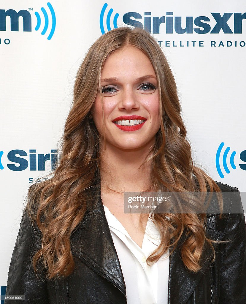 Actress Tracy Spiridakos visits at SiriusXM Studios on September 18 2013 in New York City