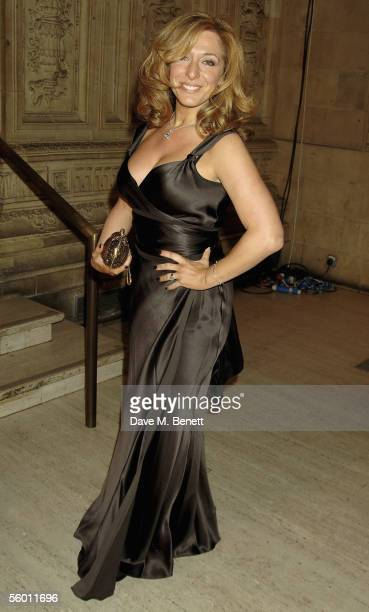 Actress TracyAnn Oberman arrives at the National Television Awards 2005 at the Royal Albert Hall on October 25 2005 in London England