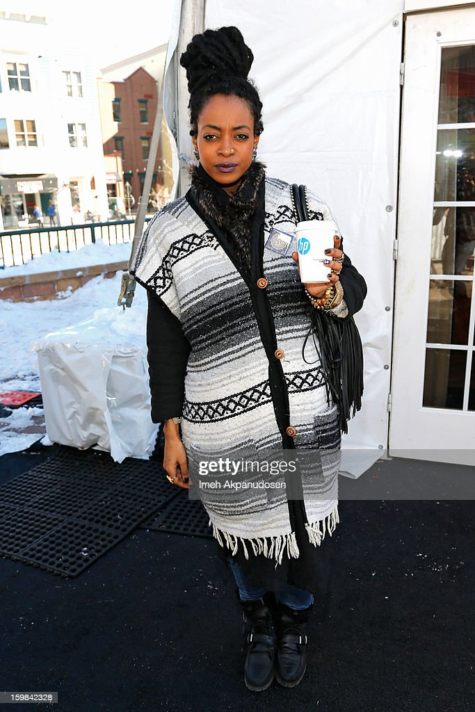 Actress Trae Harris attends Day 4 of Village At The Lift 2013 on January 21, 2013 in Park City, Utah.
