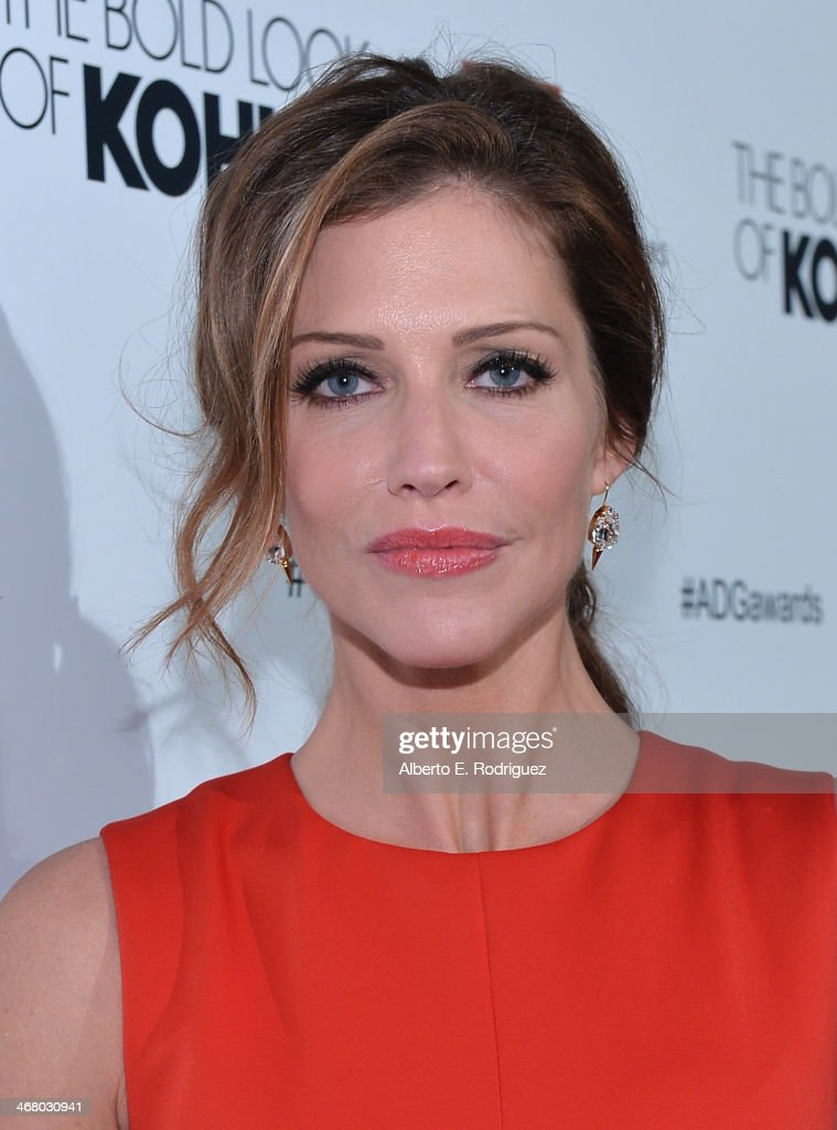 Actress Tricia Helfer arrives to the 18th Annual Art Directors Guild Exellence In Production Design Awards at The Beverly Hilton Hotel on February 8...