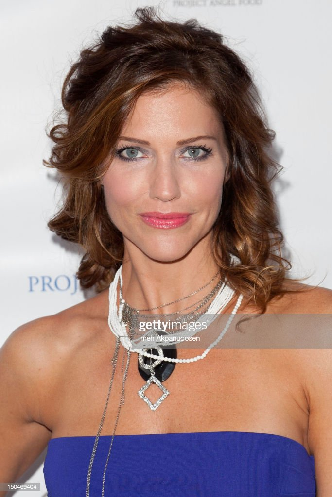 Actress Tricia Helfer attends Project Angel Food's 17th Annual Angel Awards at Project Angel Food on August 18, 2012 in Los Angeles, California.