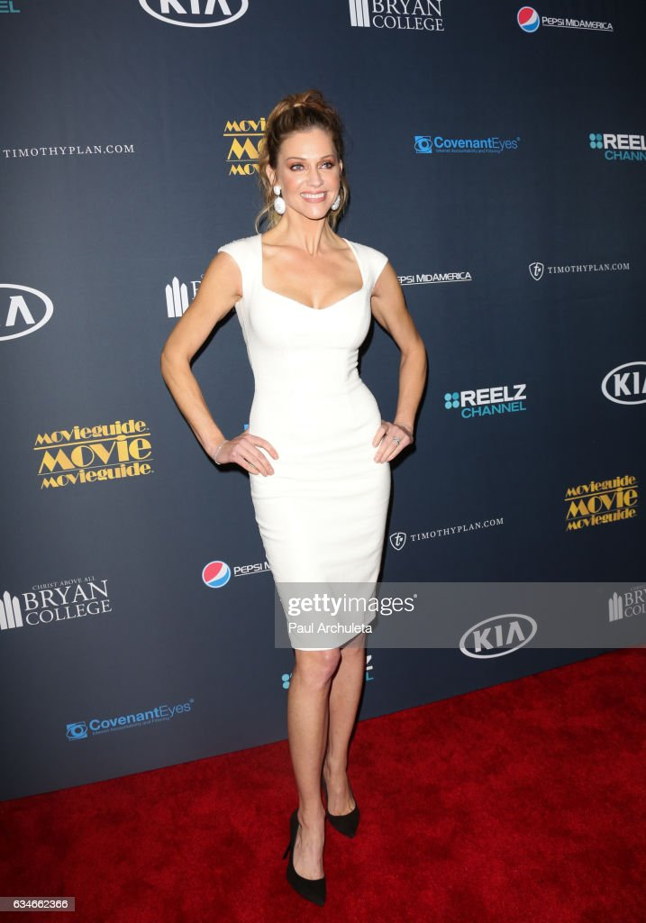 Actress Tricia Helfer attends the 25th Annual Movieguide Awards at Universal Hilton Hotel on February 10, 2017 in Universal City, California.