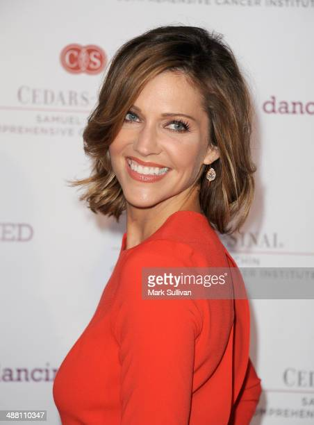 Actress Tricia Helfer attends the 2nd Annual Dancing for NED Benefit at Unici Casa Gallery on May 3 2014 in Culver City California
