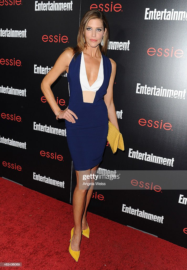 Actress <a gi-track='captionPersonalityLinkClicked' href=/galleries/search?phrase=Tricia+Helfer&family=editorial&specificpeople=227945 ng-click='$event.stopPropagation()'>Tricia Helfer</a> attends the Entertainment Weekly celebration honoring this year's SAG Awards nominees sponsored by TNT & TBS and essie at Chateau Marmont on January 17, 2014 in Los Angeles, California.