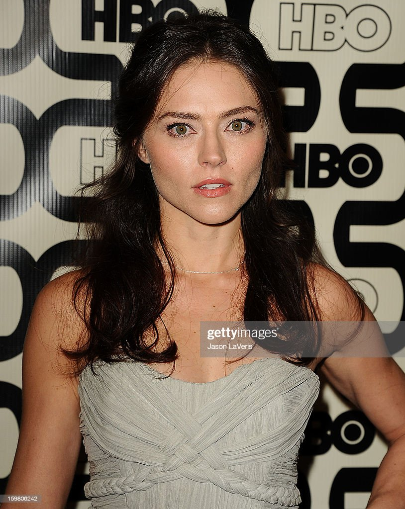 Actress Trieste Kelly Dunn attends the HBO after party at the 70th annual Golden Globe Awards at Circa 55 restaurant at the Beverly Hilton Hotel on January 13, 2013 in Los Angeles, California.